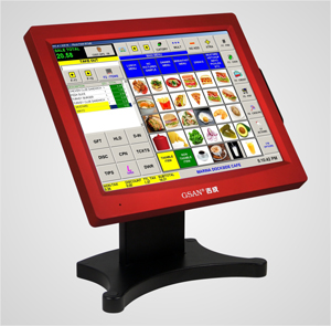 GS-3075 15 all in one touch pos Touch pos terminal GS-3075
